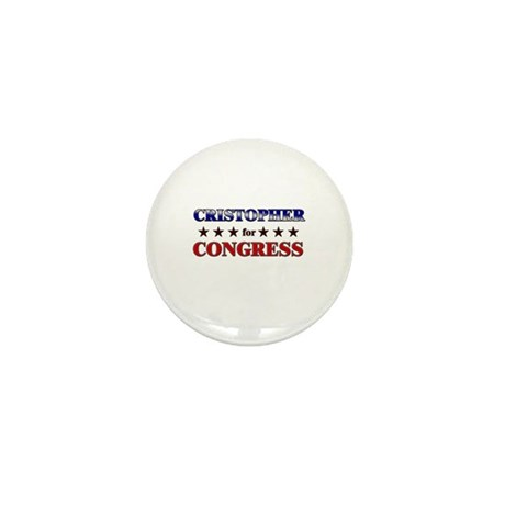 CRISTOPHER for congress Mini Button (10 pack)