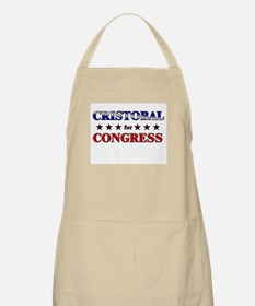CRISTOBAL for congress BBQ Apron