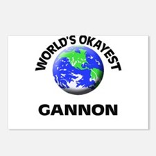 World's Okayest Gannon Postcards (Package of 8)