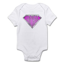 SuperArcher(pink) Infant Bodysuit