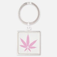 Cute Illegals Square Keychain