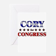CORY for congress Greeting Card