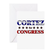 CORTEZ for congress Greeting Cards (Pk of 20)