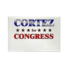 CORTEZ for congress Rectangle Magnet