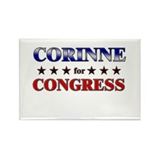 CORINNE for congress Rectangle Magnet