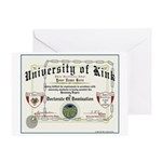 University of Kink Greeting Card