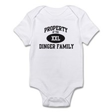 Property of Dinger Family Infant Bodysuit
