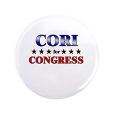 """CORI for congress 3.5"""" Button"""