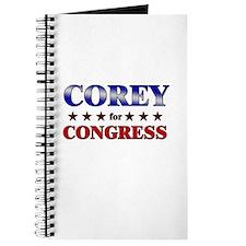 COREY for congress Journal