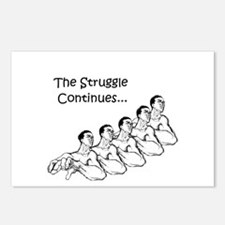The Struggle Continues Postcards (Package of 8)