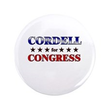 "CORDELL for congress 3.5"" Button"