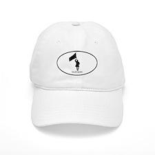 Color Guard (euro-white) Baseball Cap