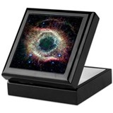 Astronomy Square Keepsake Boxes