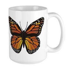 Monarch Butterfly Ceramic Mugs