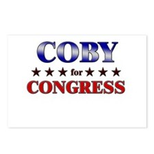 COBY for congress Postcards (Package of 8)