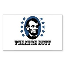 Theatre Buff Rectangle Decal