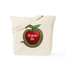 The Red Apple Original Sin Tote Bag