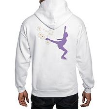 Floral Figure Skater Hoodie