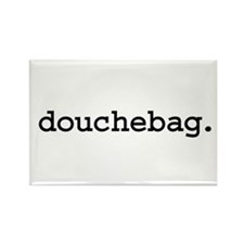 douchebag. Rectangle Magnet