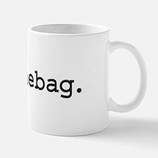 douchebag. Mug