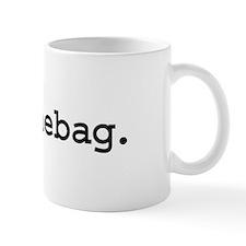 douchebag. Small Mug