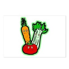 Vegetable Friends Postcards (Package of 8)
