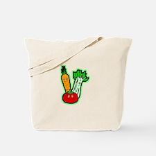 Vegetable Friends Tote Bag