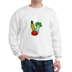 Vegetable Friends Sweatshirt