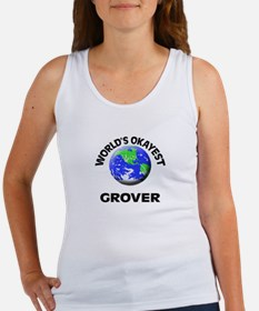 World's Okayest Grover Tank Top