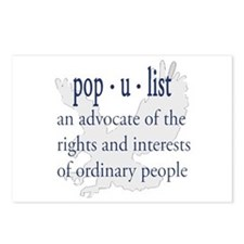 POPULIST Postcards (Package of 8)