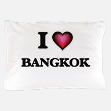 I love Bangkok Thailand Pillow Case