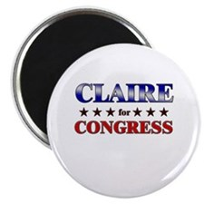 CLAIRE for congress Magnet