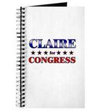 CLAIRE for congress Journal