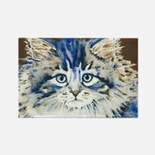 Cute Cat face Rectangle Magnet