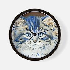Unique Cat face Wall Clock