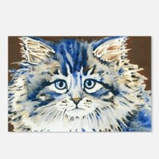 Cute French cat Postcards (Package of 8)