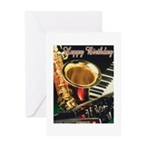 Jazz Greeting Cards