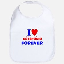I Love Estefania Forever - Bib