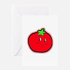 Happy Tomato Greeting Card