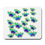 BUTTERFLY BLUES :-) Mousepad