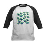 BUTTERFLY BLUES :-) Kids Baseball Jersey