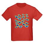 BUTTERFLY BLUES :-) Kids Dark T-Shirt