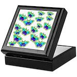 BUTTERFLY BLUES :-) Keepsake Box
