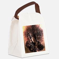 Unique Positive outlook Canvas Lunch Bag