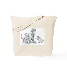 Neapolitan Mastiff Puppies Tote Bag