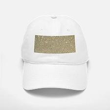 art deco gold glitter Baseball Baseball Cap