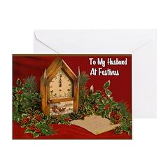 Happy FESTIVUS™ To Husband Card
