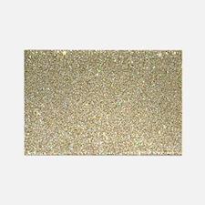 art deco gold glitter Magnets