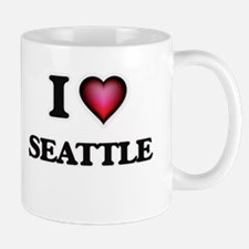 I love Seattle Washington Mugs