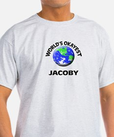 World's Okayest Jacoby T-Shirt